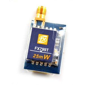 FX799T 5.8 GHz 40 Channel 25mW Race Transmitter