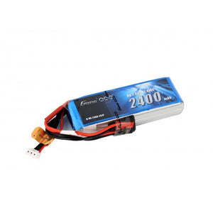 GensAce 2S 2400mAh Transmitter Lipo Battery
