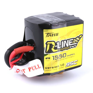 GB Tattu R-Line 4S 1550 mAh 95C SQUARE