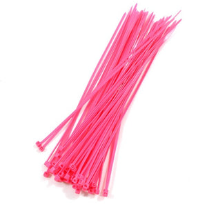 Zip Ties - Hot Pink