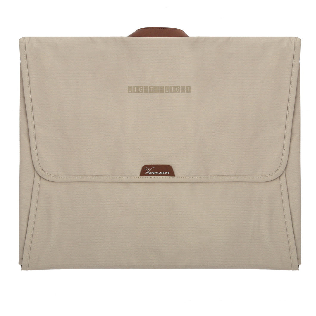 Vancouver • Travel Packing Folder, Anti-wrinkle Garment Bag with 15.7 inch Folding Board Beige