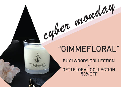 Cyber Monday - GIMME FLORAL