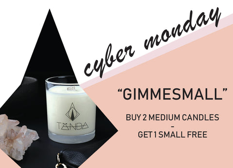 Cyber Monday - GIMME SMALL