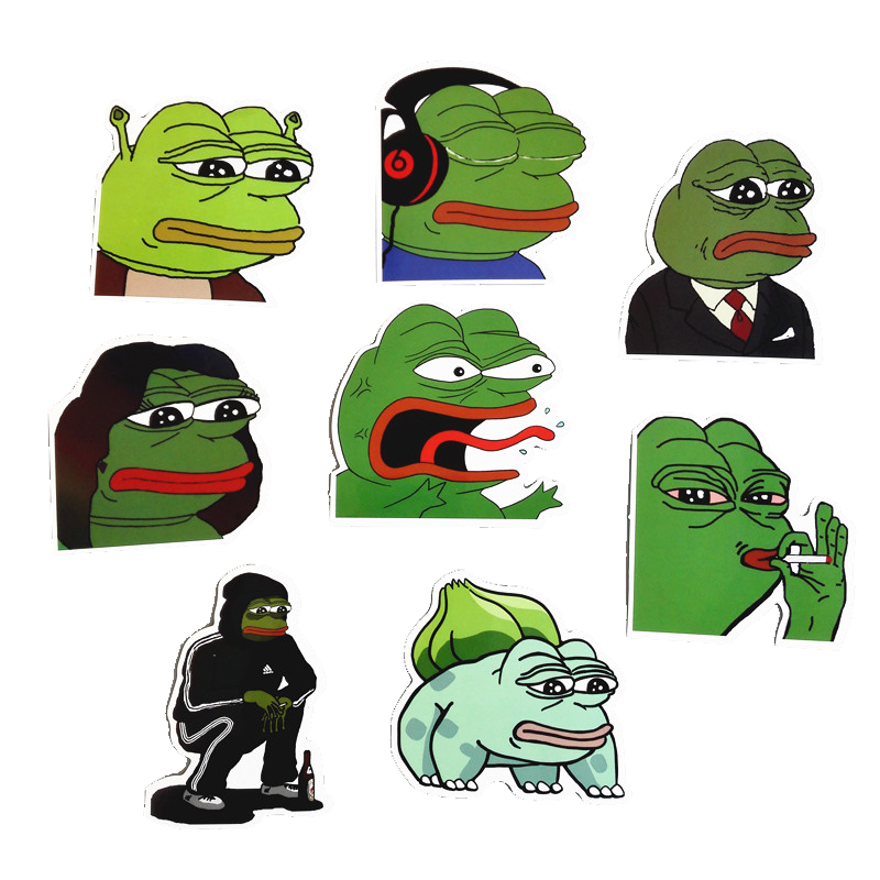 Pepe Meme Sticker Collection *FREE SHIPPING* - Dank Meme Merch
