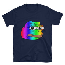 Pepe Rainbow Meme T-Shirt - Dank Meme Merch