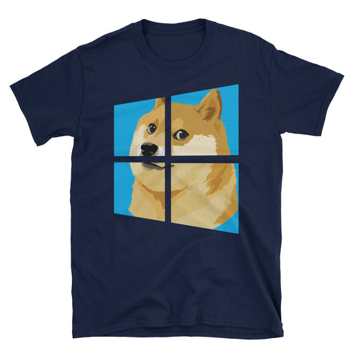 Doge Windows T-Shirt - Dank Meme Merch