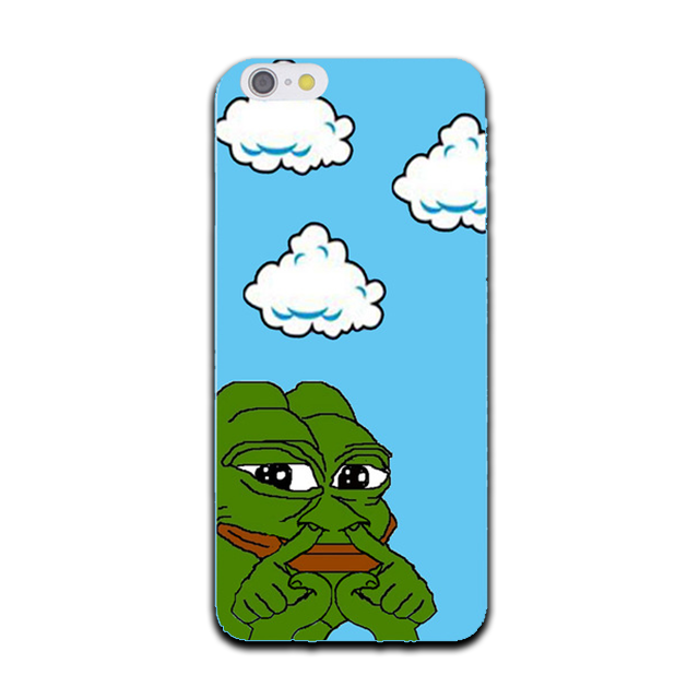 Pepe Nose Picking Phone Case - Dank Meme Merch