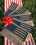 2 Pack American Flag Magnet Set - Tactilian