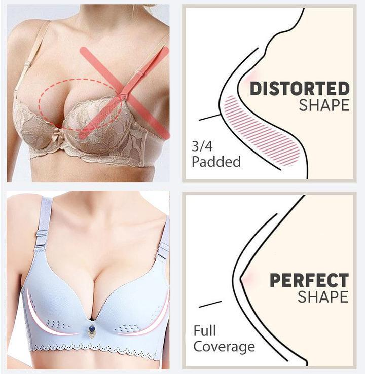 Pillow-Soft Extra-Breathable Comfort BRA