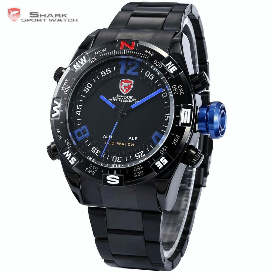Bullhead Shark Sport Watch Black/Blue