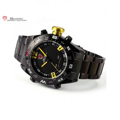 Bullhead Shark Sport Watch Black/Yellow