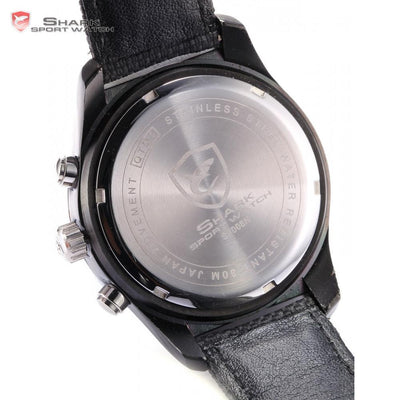 Ganges Shark 2nd Sport Watch Black/Orange