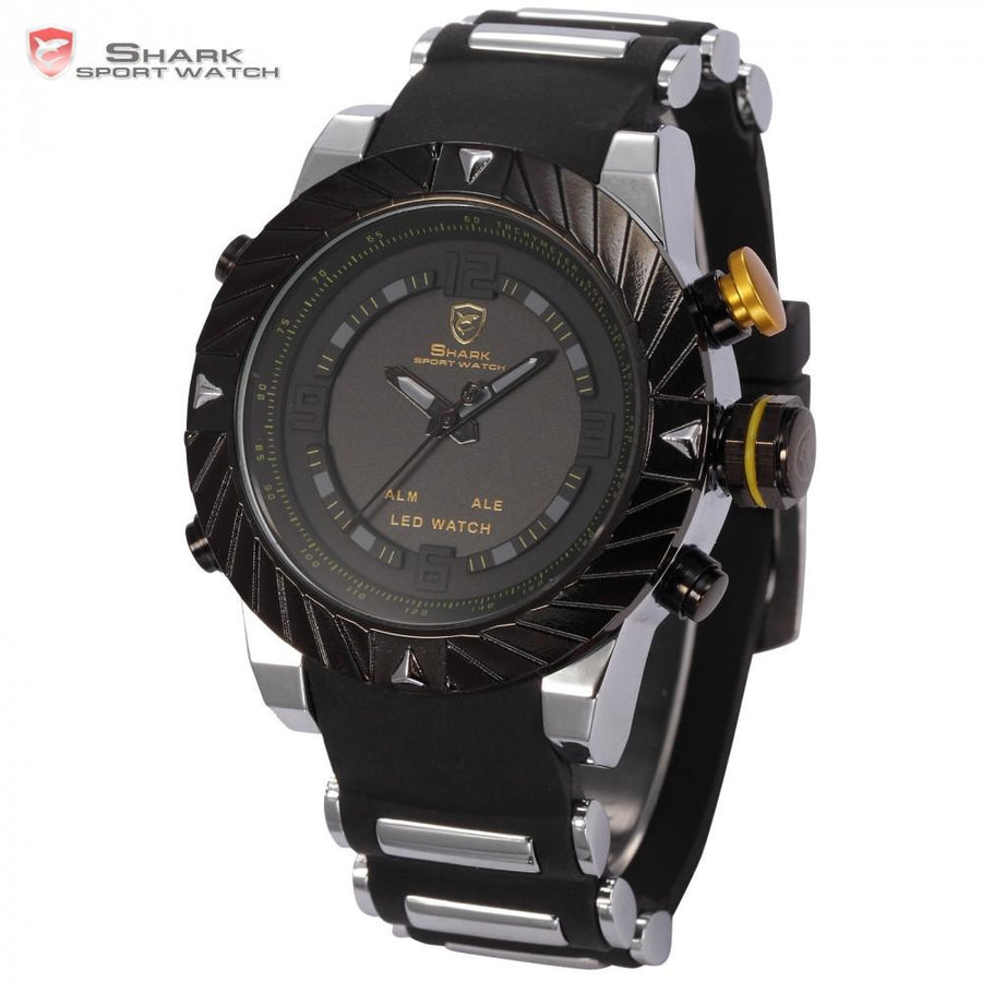 Goblin Shark Sport Watch Black/Yellow