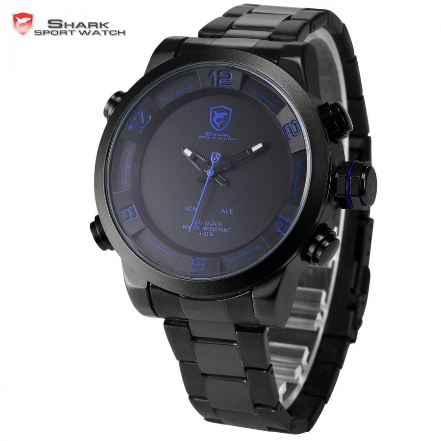 Gulper Shark 2 Sport Watch Black/Blue