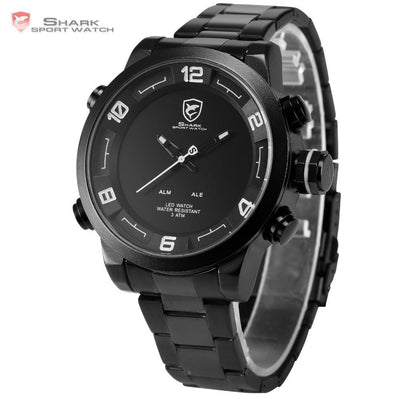 Gulper Shark 2 Sport Watch Black/White