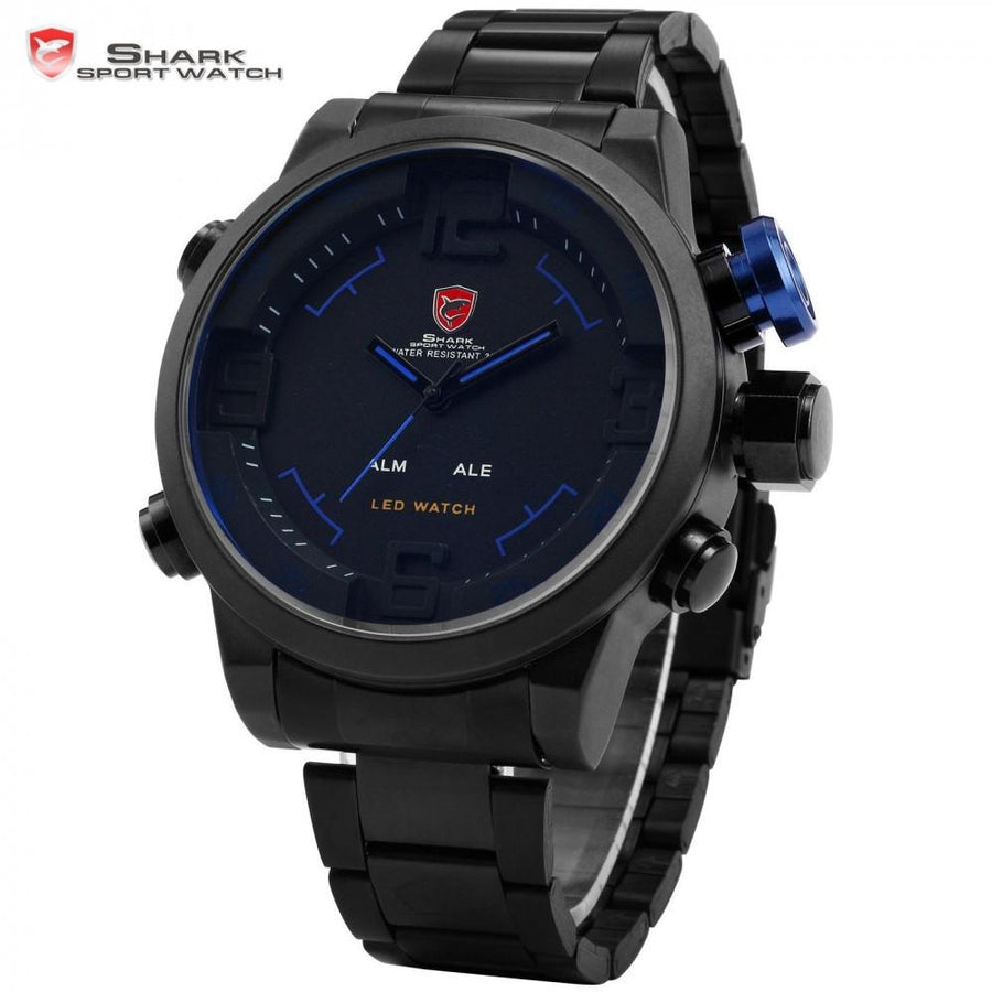 Gulper Shark Sport Watch Black/Blue