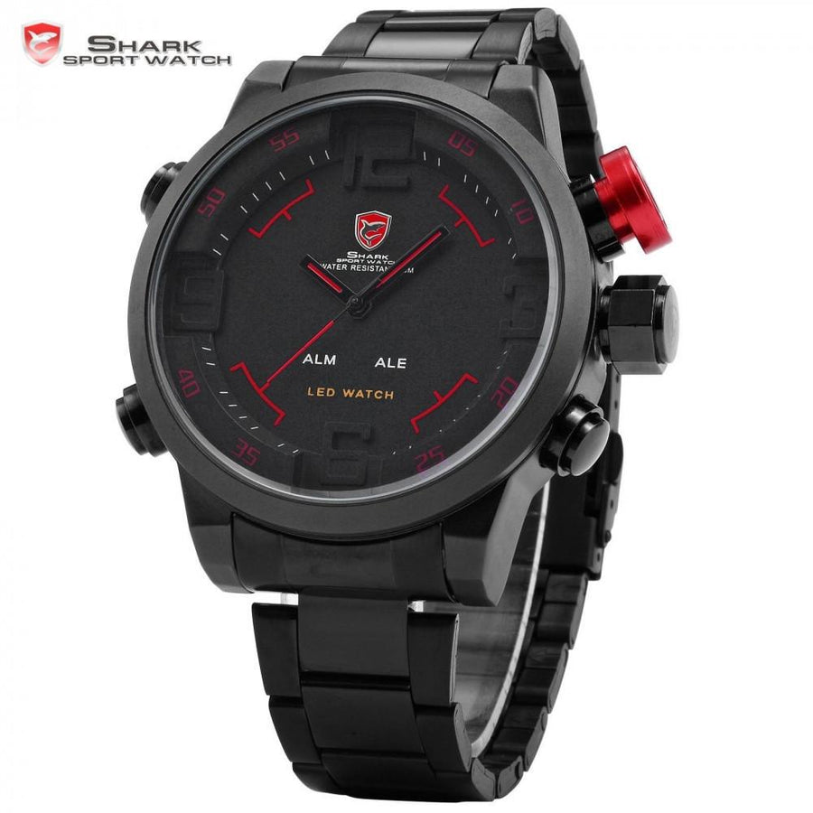 Gulper Shark Sport Watch Black/Red