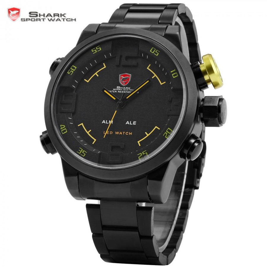 Gulper Shark Sport Watch Black/Yellow