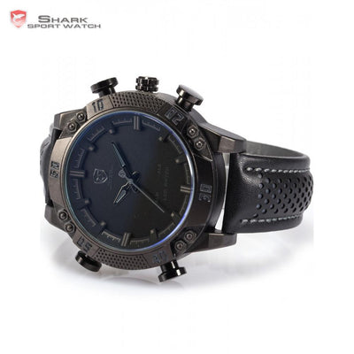 Kitefin Shark Type A Sport Watch Black