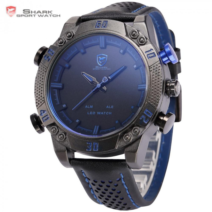 Kitefin Shark Type A Sport Watch Black/Blue