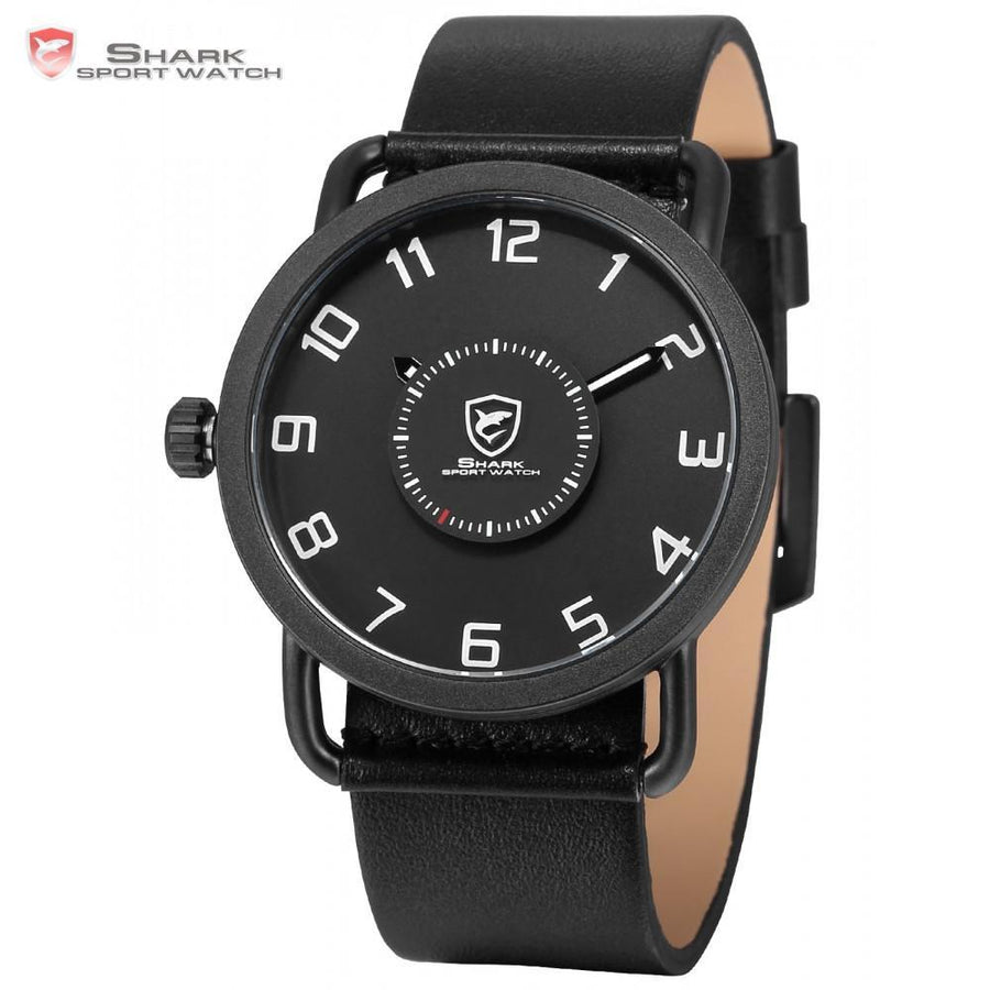 Men Watch - Caribbean Rough Shark Sport Watch Black