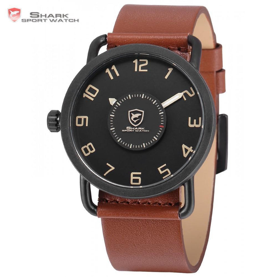 Men Watch - Caribbean Rough Shark Sport Watch Brown