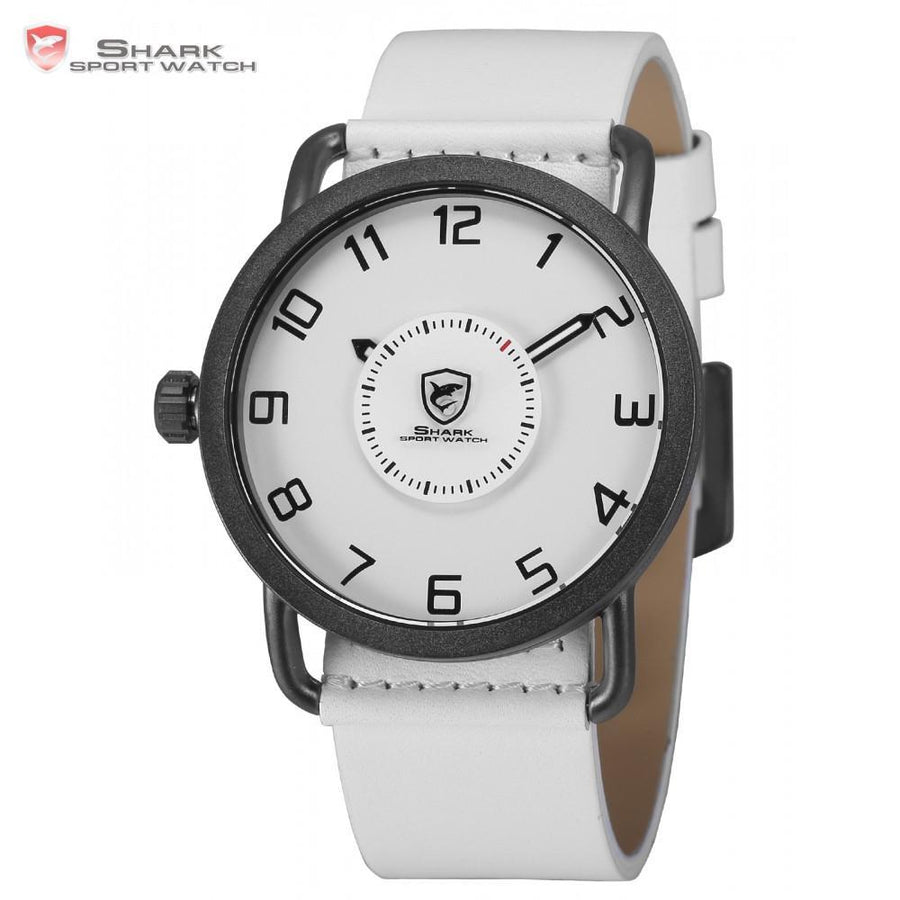 Men Watch - Caribbean Rough Shark Sport Watch White
