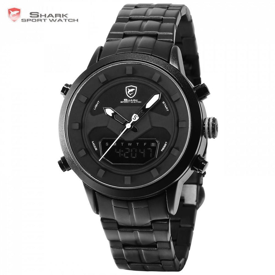 Men Watch - Requiem Shark 2 Sport Watch Black