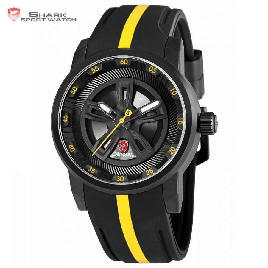 Men Watch - Thresher SHARK 2 Sport Watch Yellow