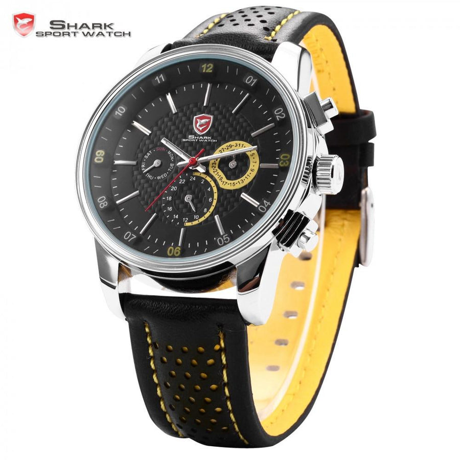 Pacific Angel Shark Sport Watch Black/Yellow