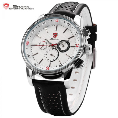 Pacific Angel Shark Sport Watch White