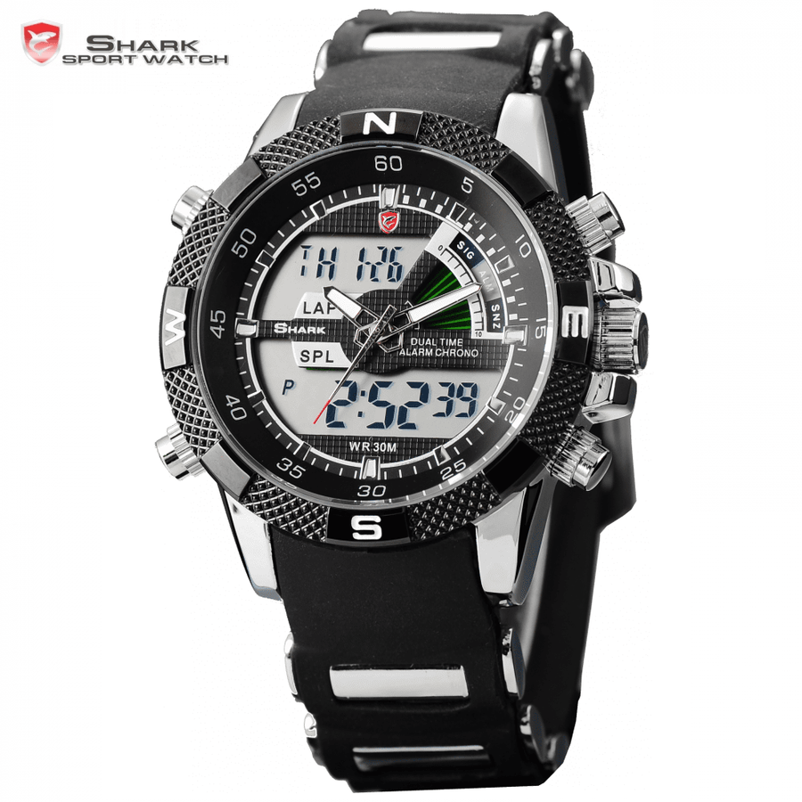Porbeagle Shark Sport Watch Black