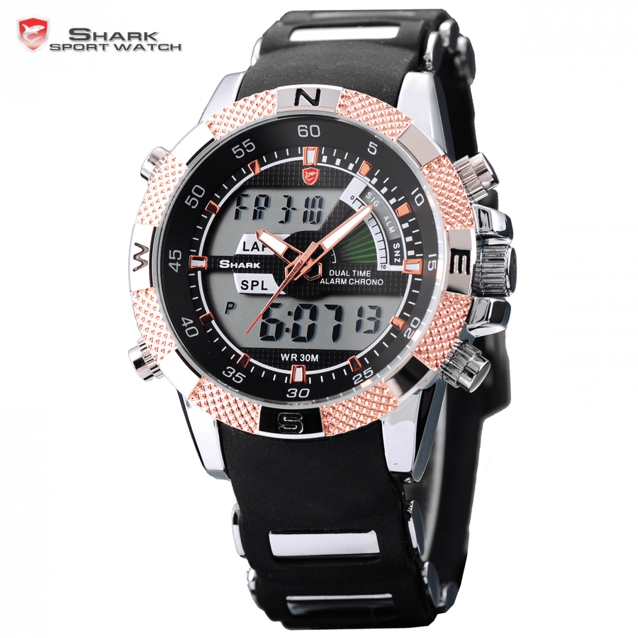 Porbeagle Shark Sport Watch Golden