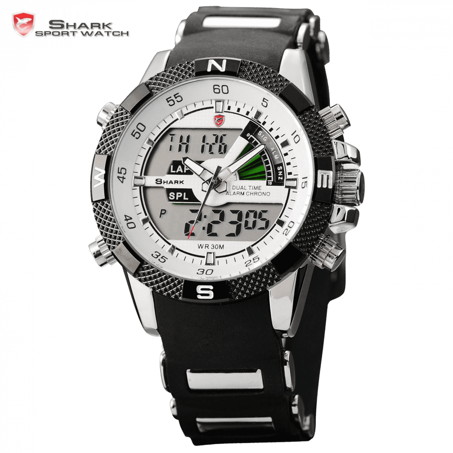 Porbeagle Shark Sport Watch White
