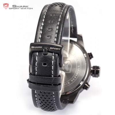 Requiem Shark Sport Watch Black