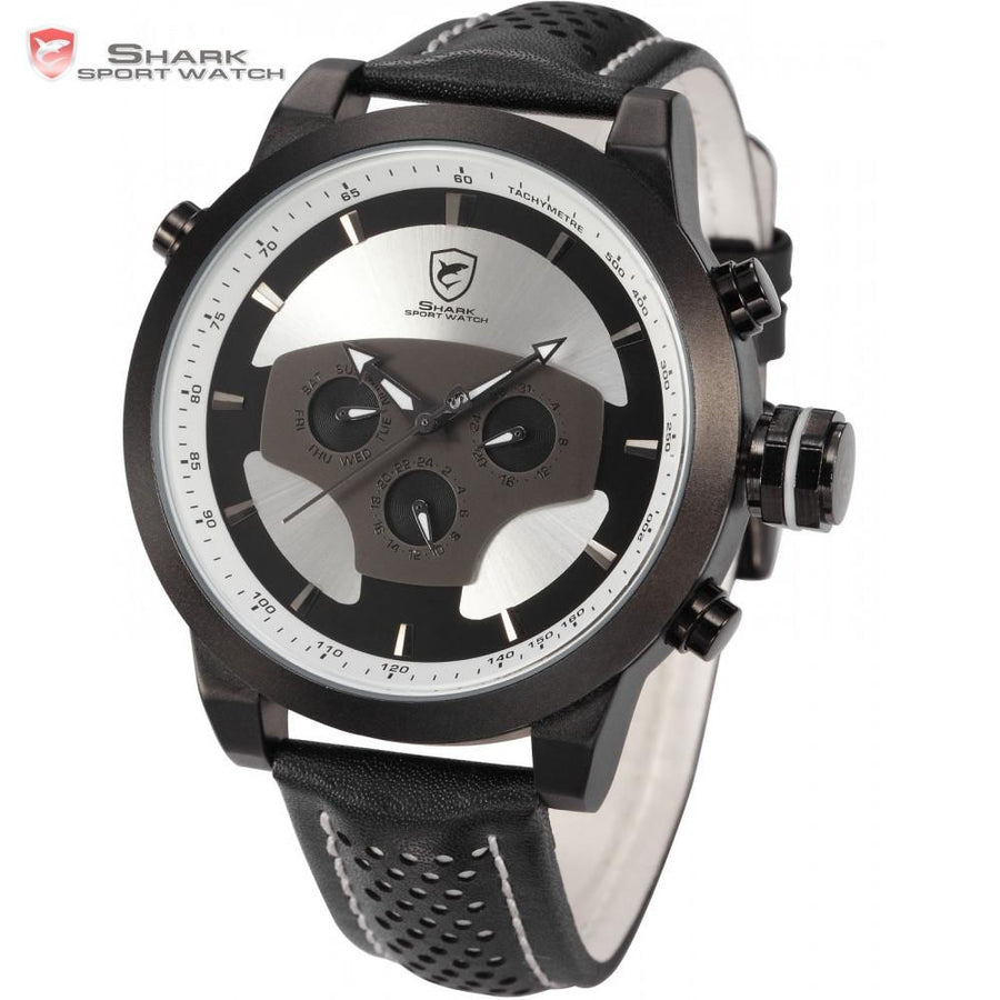 Requiem Shark Sport Watch White