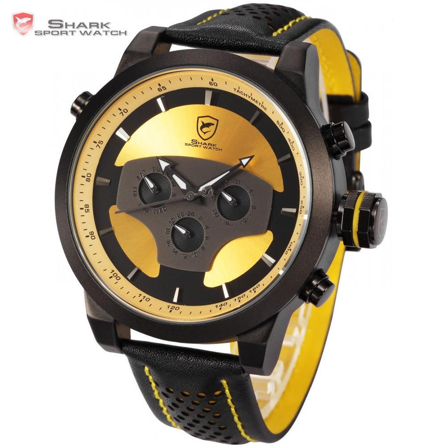 Requiem Shark Sport Watch Yellow
