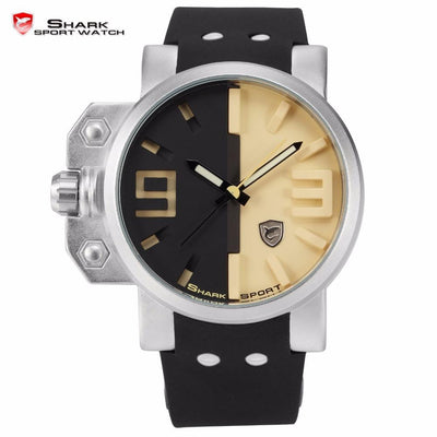 Salmon Shark Sport Watch Black/Cream