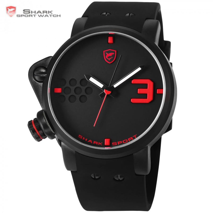 Salmon SHARK 2 Sport Watch Black/Red