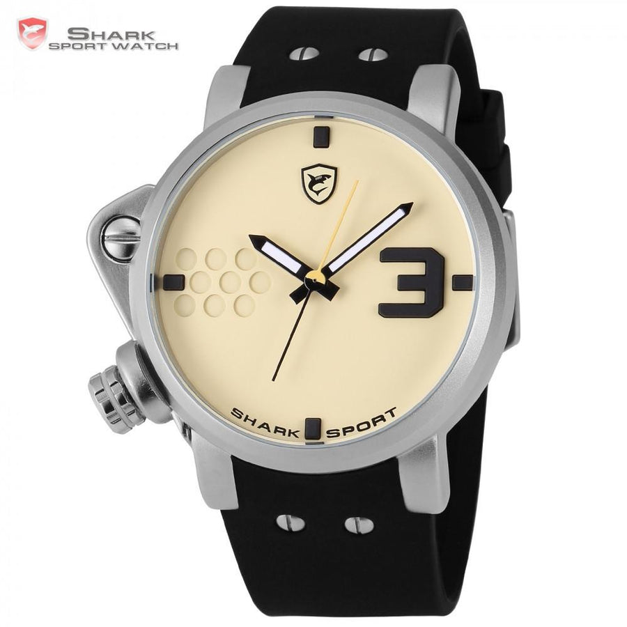 Salmon SHARK 2 Sport Watch Cream