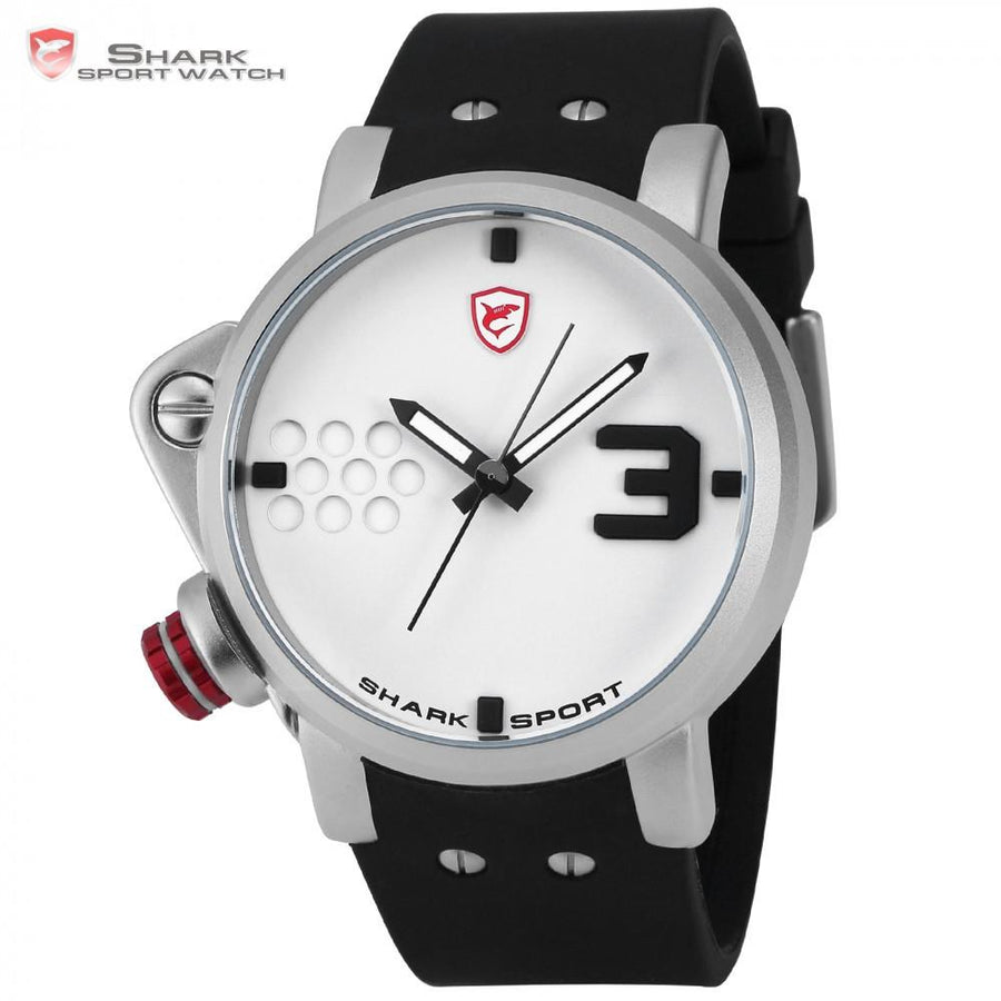 Salmon SHARK 2 Sport Watch White
