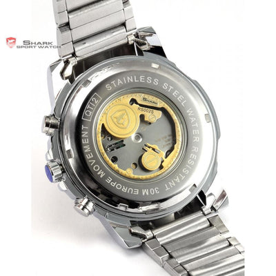 Saw Shark Sport Watch Black/Golden