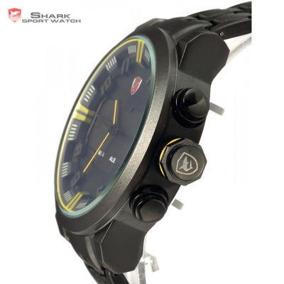 Sawback Angel Shark B Sport Watch Black/Yellow