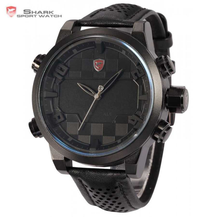 Sawback Angel Shark Sport Watch Black