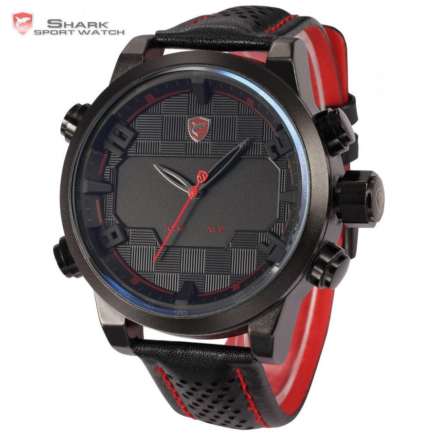 Sawback Angel Shark Sport Watch Black/Red