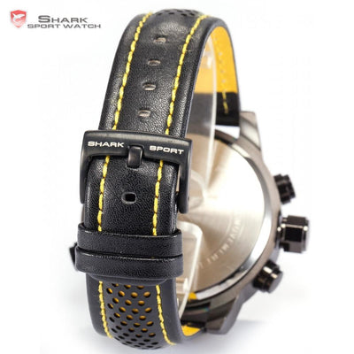 Sawback Angel Shark Sport Watch Black/Yellow
