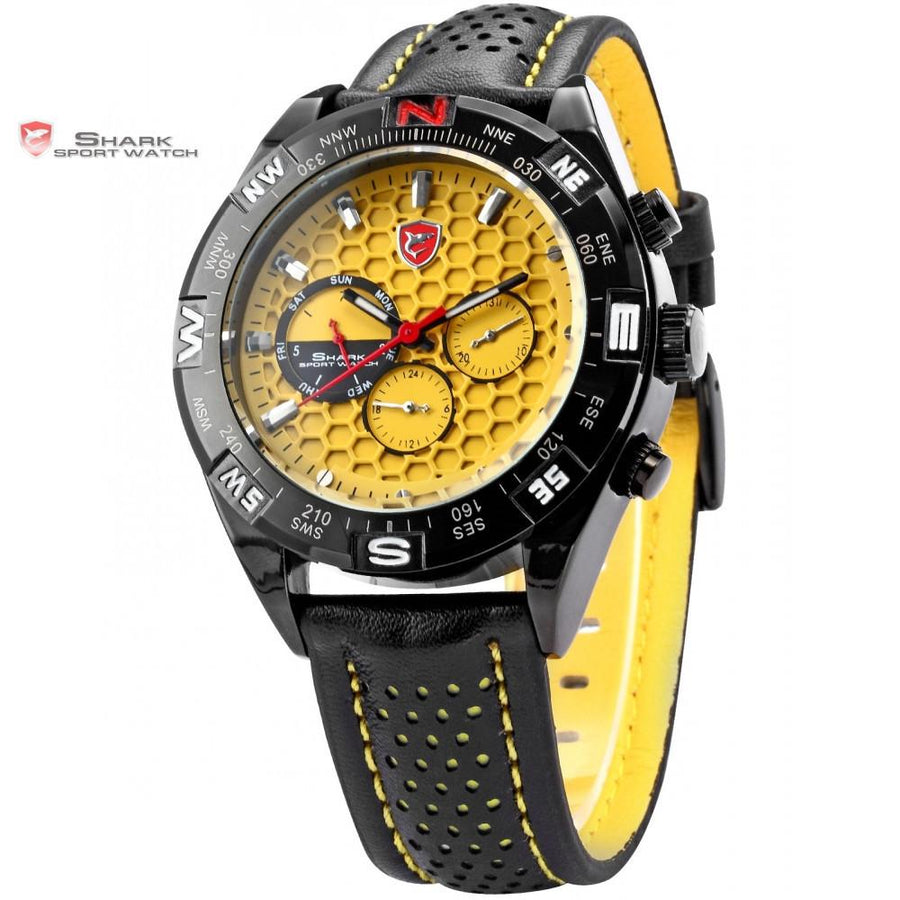Shortfin SHARK Sport Watch Yellow