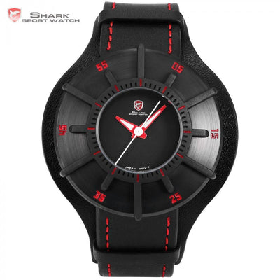 Silky Shark Sport Watch Black/Red