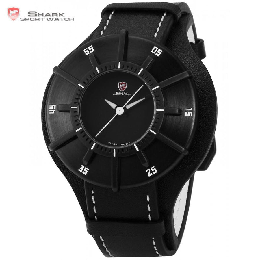 Silky Shark Sport Watch Black/White