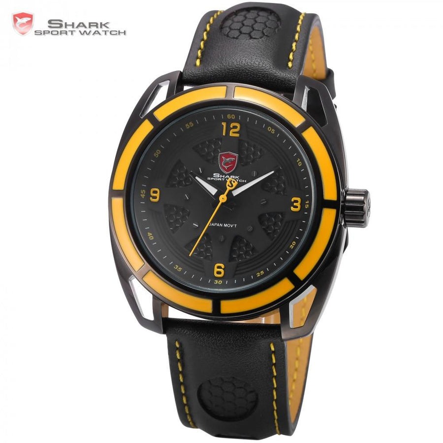 Thresher Shark Sport Watch Yellow